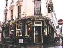The Mitre Pub, 24 Craven Terrace,  Bayswater, London,  W2 3QH