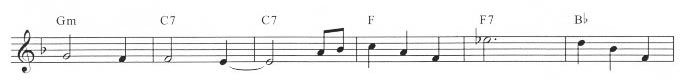 sample of a lead sheet