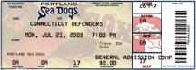 Portland Sea Dogs Ticket